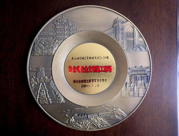 奥山世纪城2号地块D-1#楼省安全文明施工现场奖牌.jpg